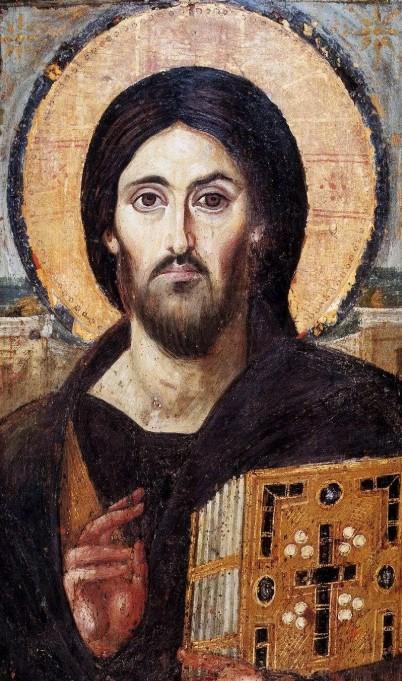 Синайская икона Христа Пантократора