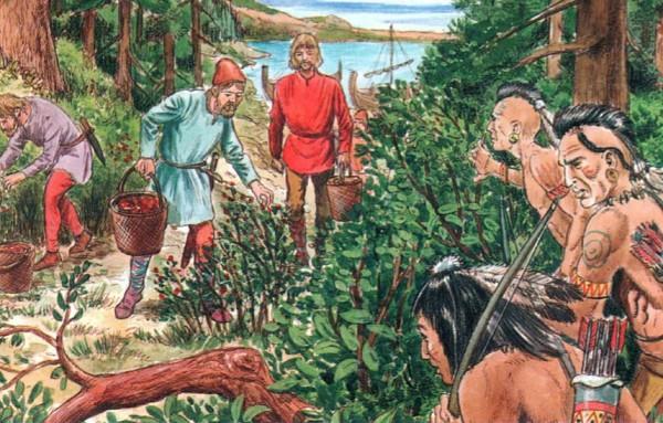 Североамериканские индейцы встретили викингов недружелюбно
