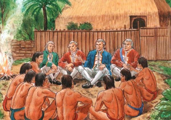 Кук и аборигены