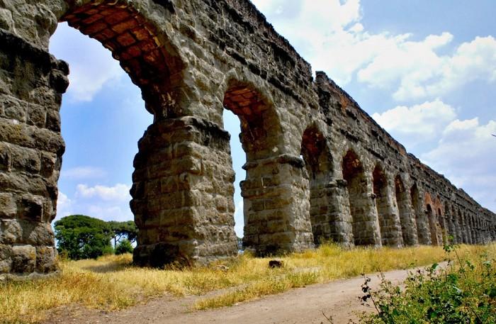 Парк акведуков, Рим, Италия
