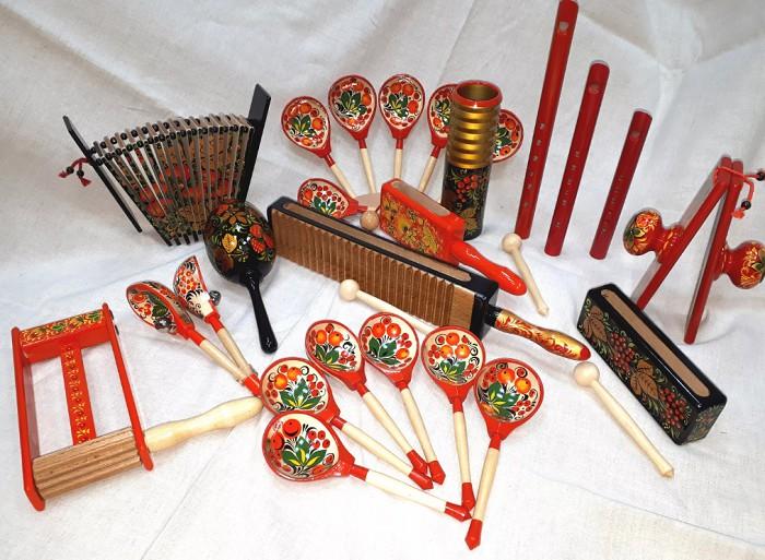 Русские народные музыкальные инструменты. Кратко