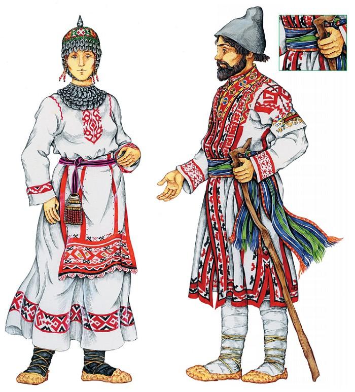 картинки национального костюма чувашей имели дело