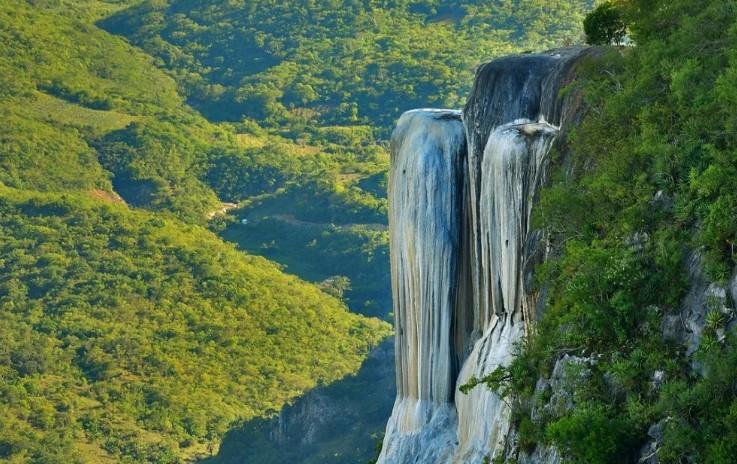 Водопад Hierve el Agua