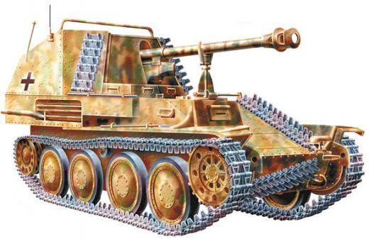 75-мм СУ «Мардер» III М