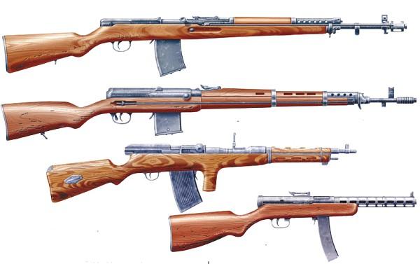 винтовки Красной Армии