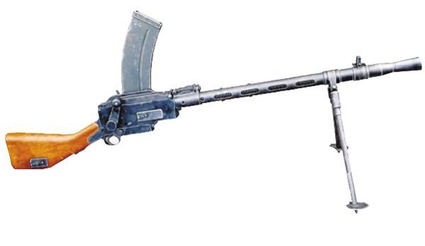 датский ручной пулемет Мадсена