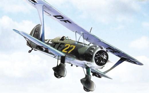 Созданный немцами в качестве пикировщика 123-й «Хеншелъ» использовался во Франции как штурмовик
