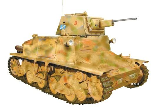 Легкий итальянский танк L 6/40