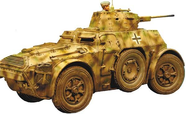 Итальянский бронеавтомобиль АВ 41