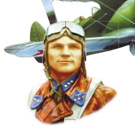Летчик Михаил Свирин