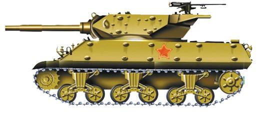 Лучший и самый массовый американский танк «Шерман».