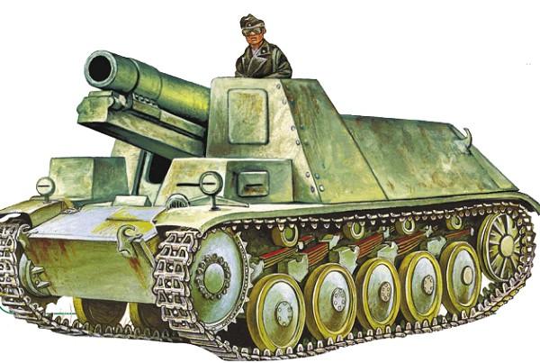 >150-мм самоходная гаубица sIG 33