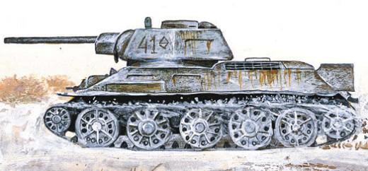 Т-34 с новой башней