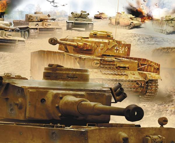 Фашистские танки