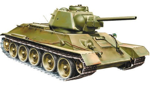 Т-34 1943 года выпуска