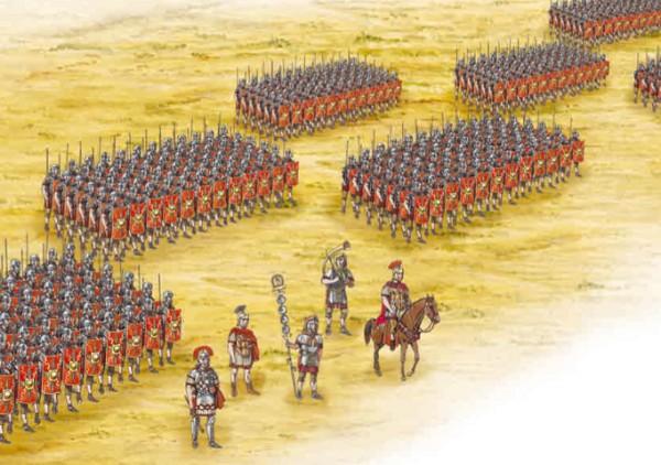 Построение римских манипул