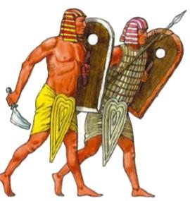 Пешие воины Древнего Египта