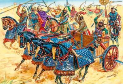 Персидская боевая колесница