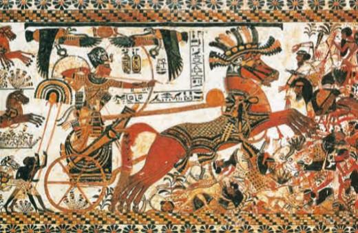 Египетская колесница