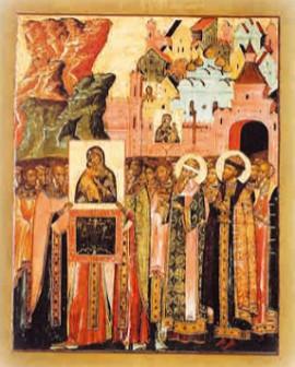 Сретение Владимирской иконы Божьей Матери в Москве