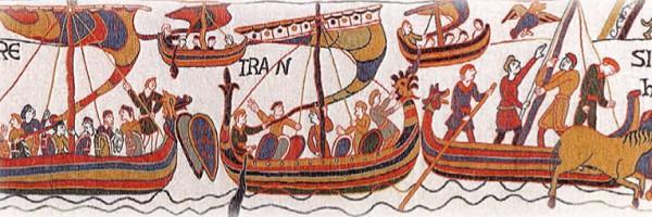 Высадка нормандского герцога Вильгельма Завоевателя в Англии в 1066 г.