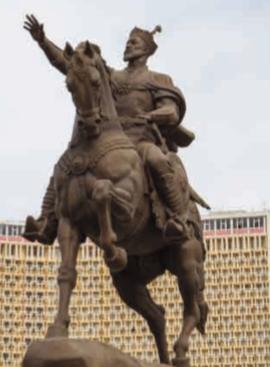 Памятник Тамерлану в Ташкенте