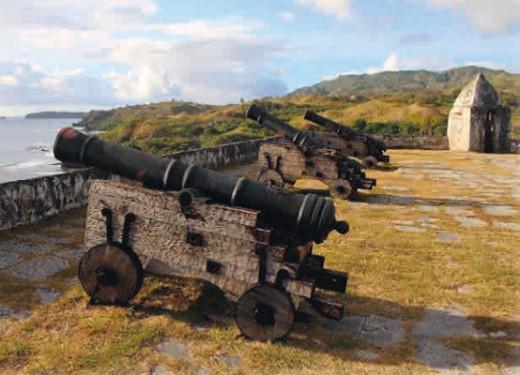 Форт Соледад в Гуаме (Испания)