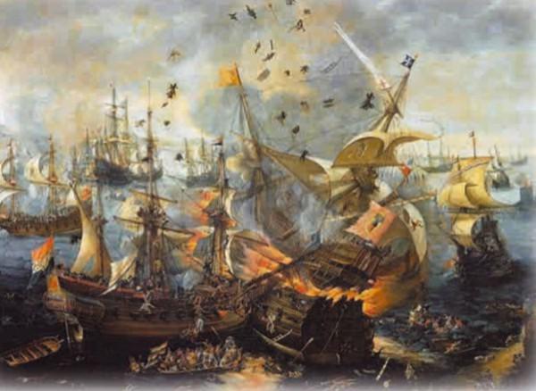 К. ван Виринген. Битва при Гибралтаре