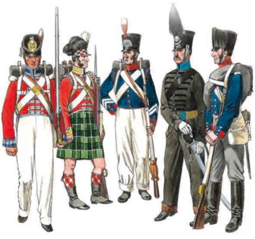 Рядовой, гренадер, капрал, гусар, рядовой