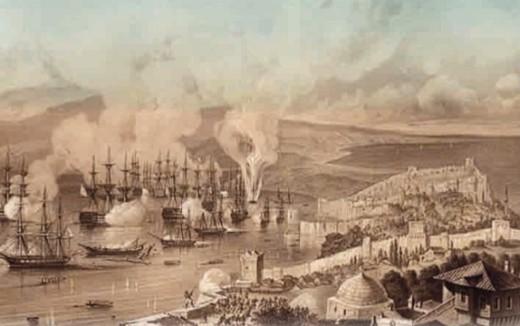А. П. Боголюбов. Синопское сражение 1853 г.
