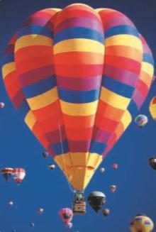 С помощью воздушного шара человек впервые поднялся в воздух