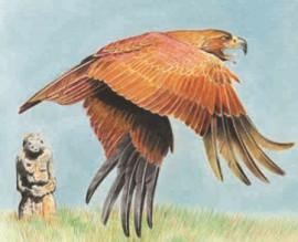 Степной орел — обитатель степей Евразии