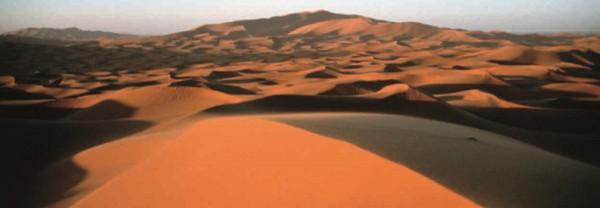 «Песчаные волны» — барханы