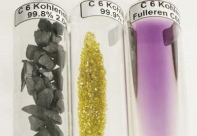 Уголь, алмаз и фуллерен