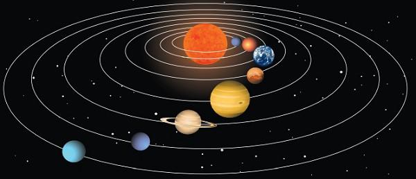 Планеты движутся вокруг Солнца