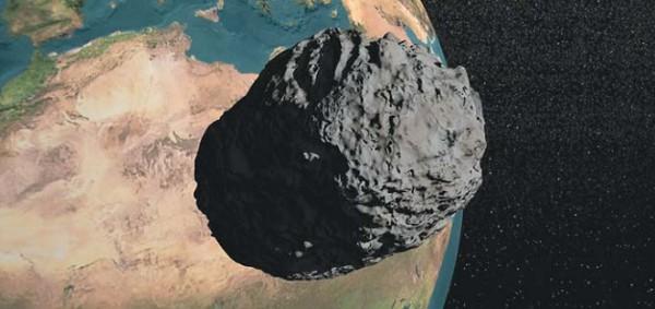 Метеорит в окрестностях Земли
