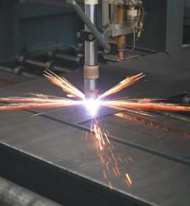 Резка металла при помощи плазмы