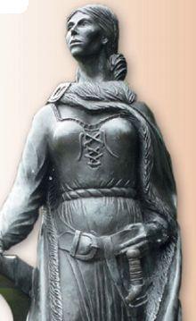 Скульптура Грануаль в Вест-Портхаусе (Ирландия)