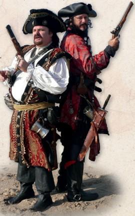 Пираты готовятся к дуэли