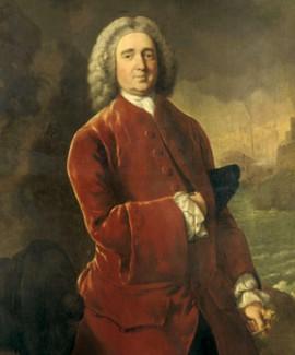 Эдвард Вернон. Портрет работы Томаса Гейнсборо. XVIII в.