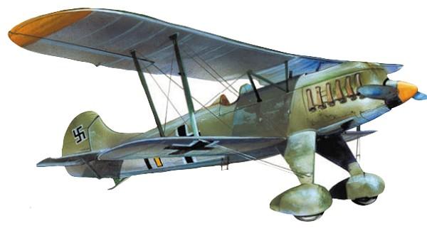 Истребитель Hs 51