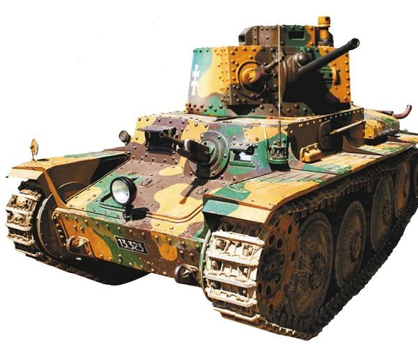 Новейший и самый лучший чехословацкий танк LT-38
