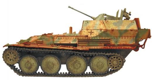 20-мм СУ «Флакпанцер» 38