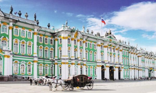 Петергоф и Эрмитаж в Санкт-Петербурге