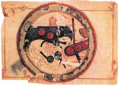 Арабская карта мира X в.