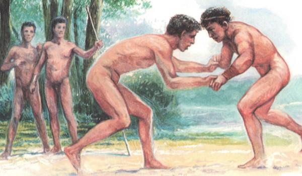 Борьба в Древней Греции