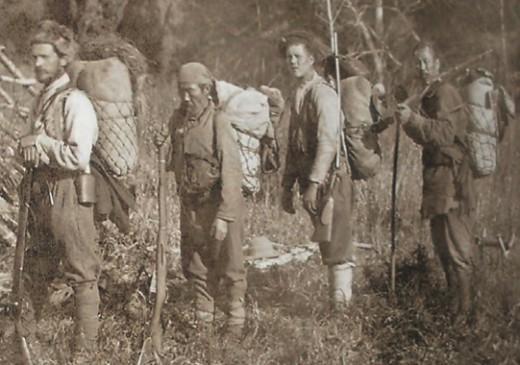 Арсеньев, Дерсу Узала и их спутники