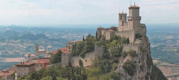 Крепость на горе Титано (Сан-Марино)