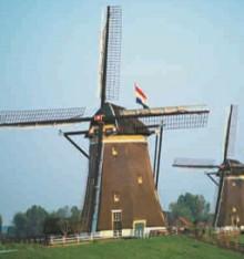 Ветряные мельницы в Нидерландах