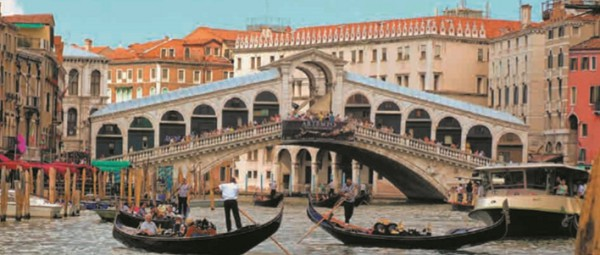 Большой канал — главная улица Венеции (Италия)